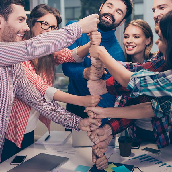 digital marketing services team